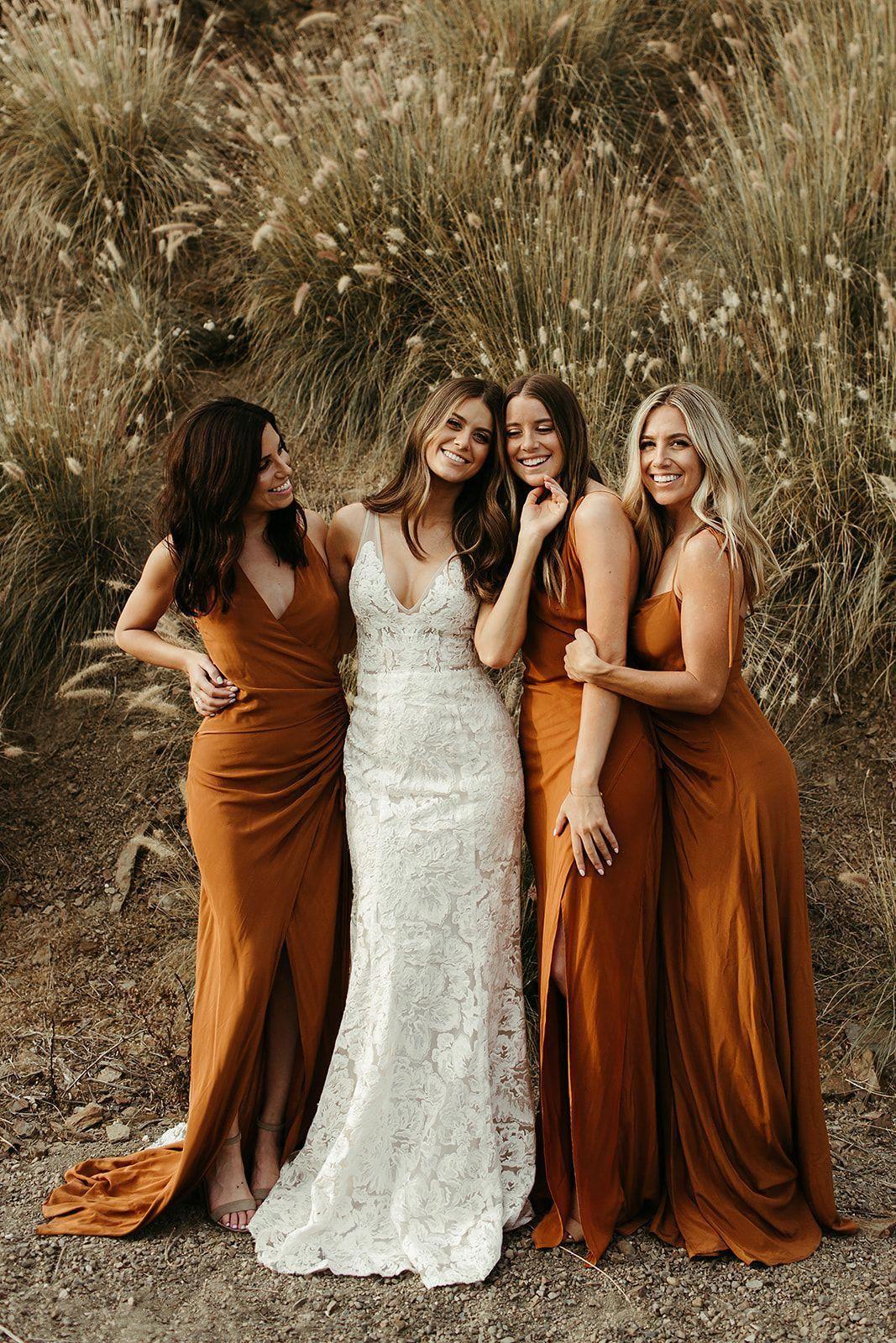 Bridesmaid Dresses Whip Smart Guide To Start Right Here Bohemian Bridesmaid Dress Orange Bridesmaid Dresses Fall Bridesmaid Dresses [ 1600 x 1067 Pixel ]