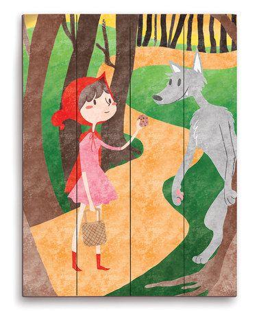 Look at this #zulilyfind! Little Red Riding Hood Wall Art #zulilyfinds