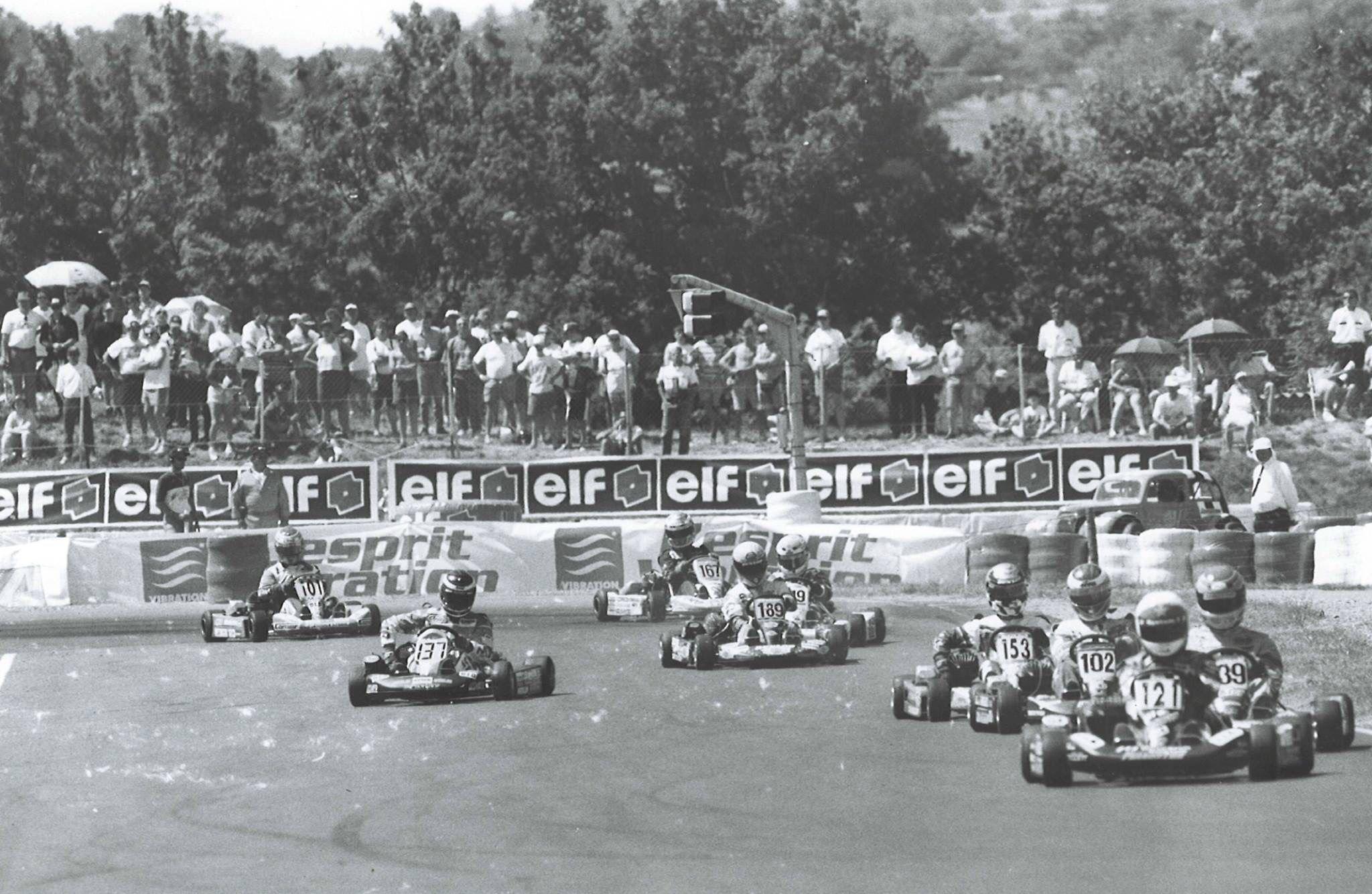 Button karting 1995 Saint Amand