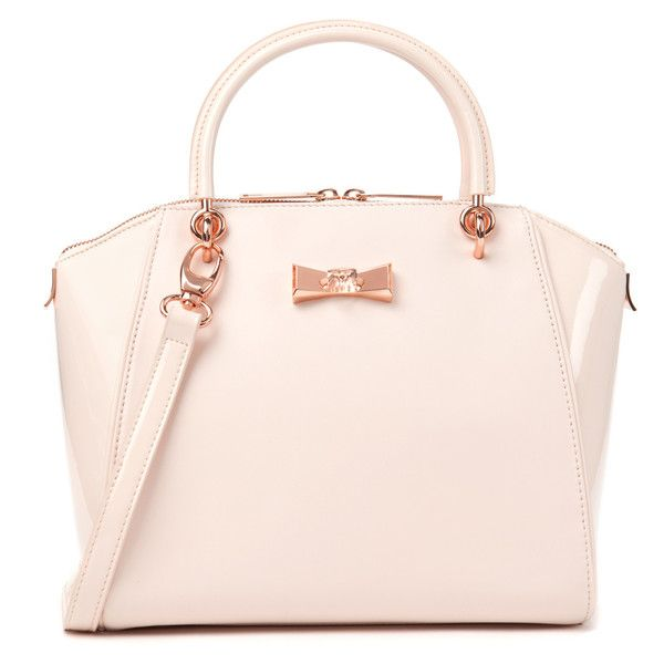 Ted Baker Small Crystal Bow Tote ( 199) ❤ liked on Polyvore featuring bags 7c0b0c3158c82