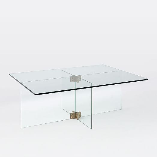 Cosima Coffee Table West Elm W X D X H RES Loft - West elm glass side table