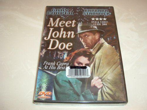 MEET JOHN DOE (1941) DVD Gary Cooper / Barbara Stanwyck $0.05