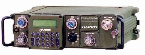 AN/PRC-150(C) HF/VHF Manpack Radio  Photo: Harris Corporation
