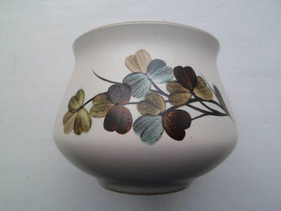 Denby Bourne open sugar bowl in the Shamrock by millcottagevintage, £5.00