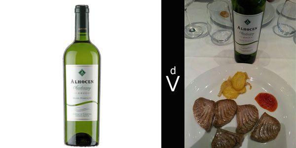 Alhocen Chardonnay 2011 Vinos Uvas Y Atun Rojo