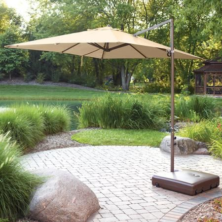 Mainstays Offset Outdoor Umbrella Base
