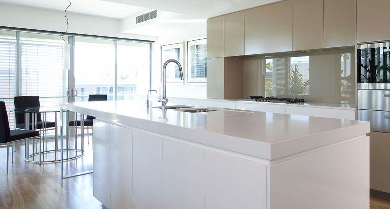 Image result for organic white caesar stone kitchen tops