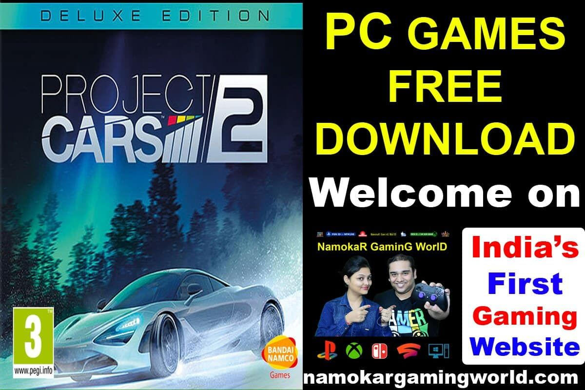 Project CARS 2 PC Free games, Gaming pc, Free download