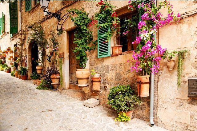 PAPERMOON Fototapete »Valdemossa Majorca«, Vlies, in verschiedenen Größen online kaufen   OTTO