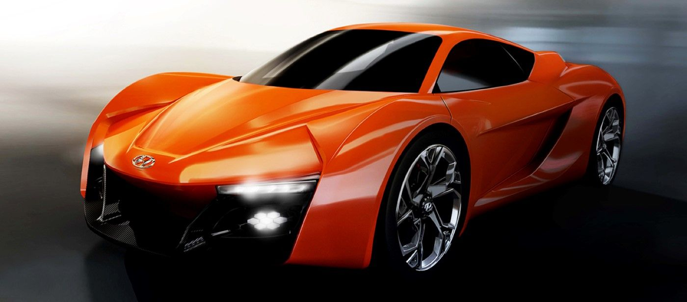 Ied Students Hyundai Collaborate On Gen Y Sports Car With Images