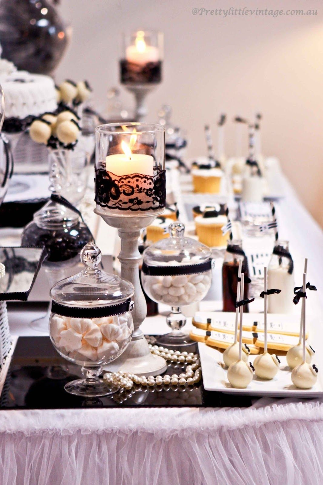 30th Birthday Dinner Party Ideas Part - 48: I Want A Chanel Style Party! A