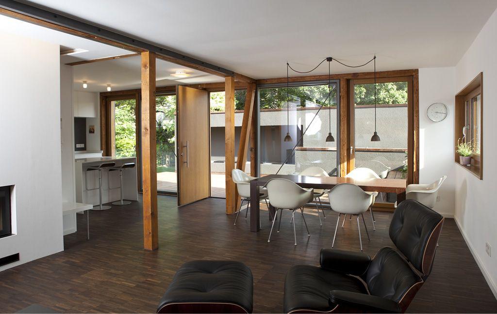Traumhaus modern innen  30er-Jahre-Haus lebt auf: ... und alle fragen nach der Farbe ...
