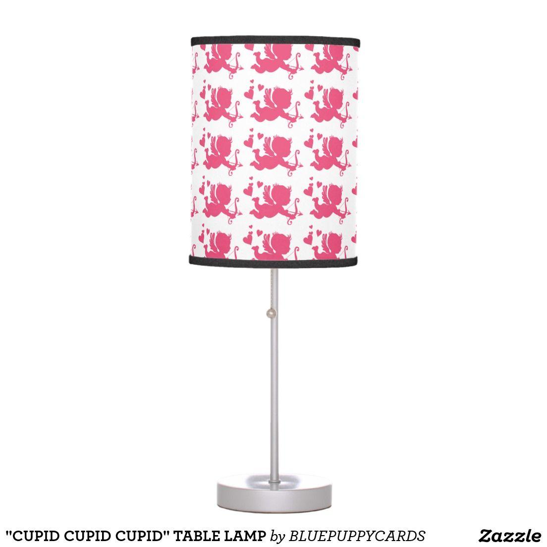"""""""CUPID CUPID CUPID"""" TABLE LAMP"""