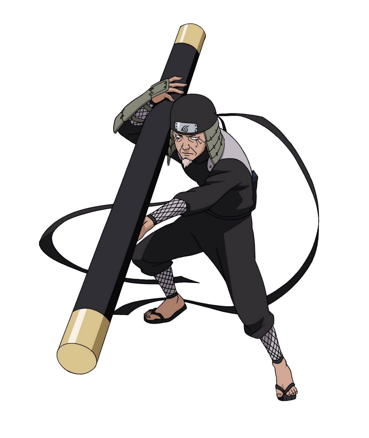 Hiruzen sarutobi third hokage anime