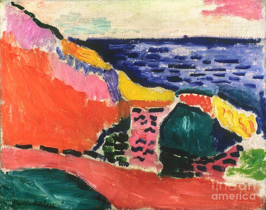 Matisse: La Moulade (cove) Photograph  - Matisse: La Moulade (cove) Fine Art Print