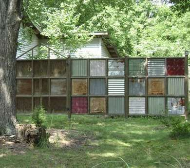 Recycled Fences 8 Clever Ways To Put Salvage To Good Use Fence