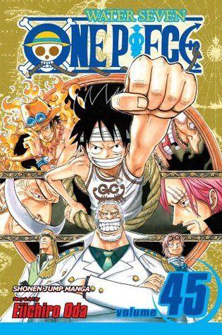 One Piece Volume 45 One Piece 45 One Piece Comic One Piece Manga Manga Covers
