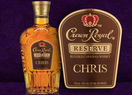 Custom Make Your Very Own Crown Royal Labels For FREE!