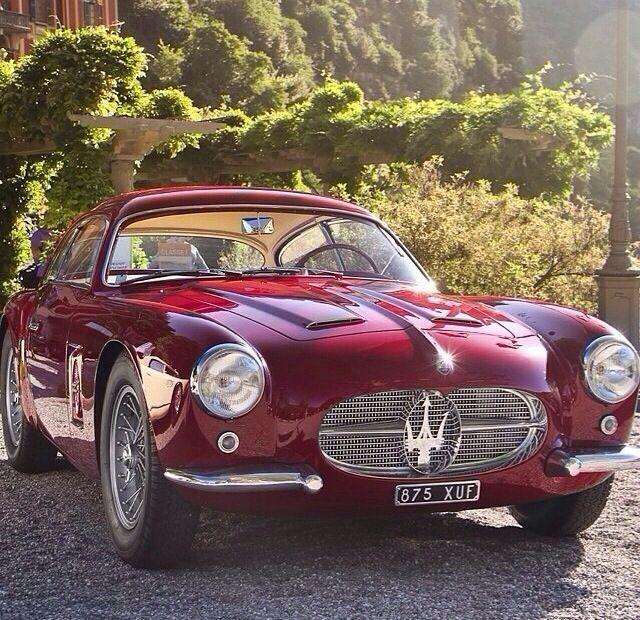 Maserati Zagato Coupe…enough said. #vintagecars