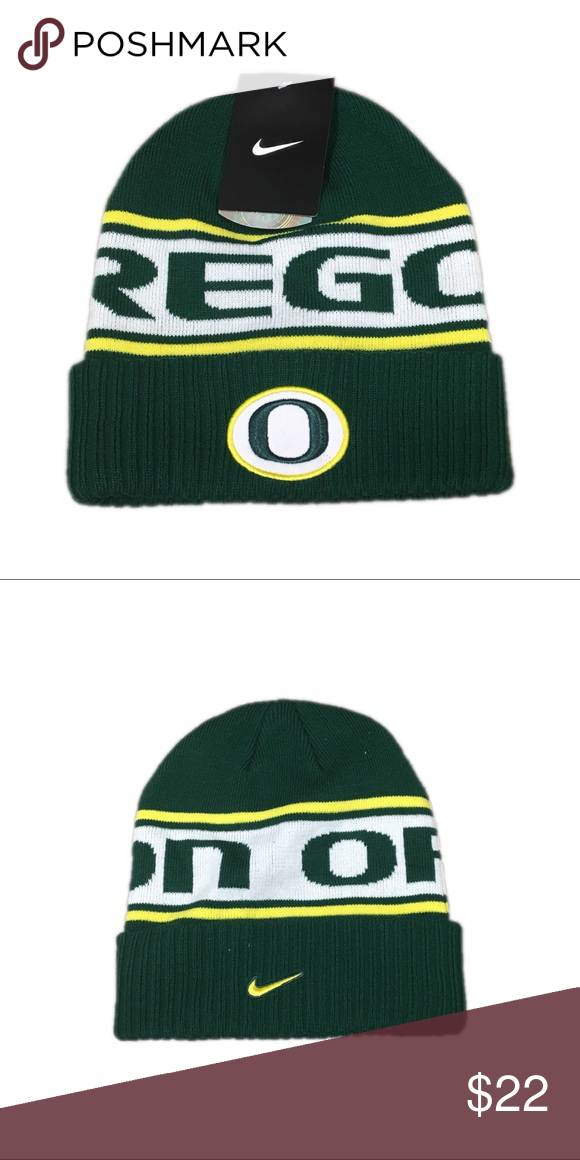separation shoes 0e4be 93056 Oregon Ducks Nike Sideline Beanie Hat Cap Brand new with tags officially  licensed Oregon Ducks Nike Sideline Beanie cap Nike Accessories Hats