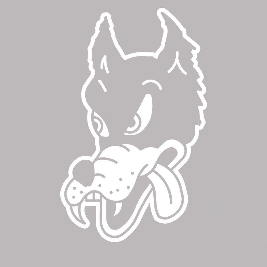 18bb39b67a1 Grateful Dead Dire Wolf vinyl decal sticker