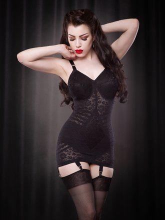 d6ca15025b4 Rago s black classic corselette
