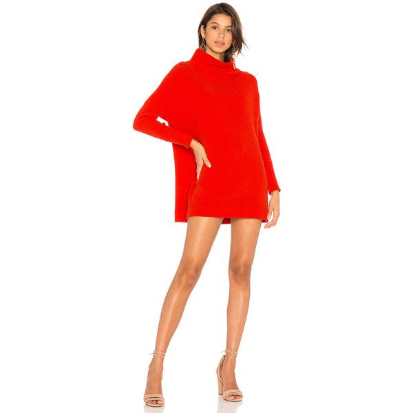 Free People Ottoman Slouchy Tunic Sweater Dress ($150) ❤ liked on ...