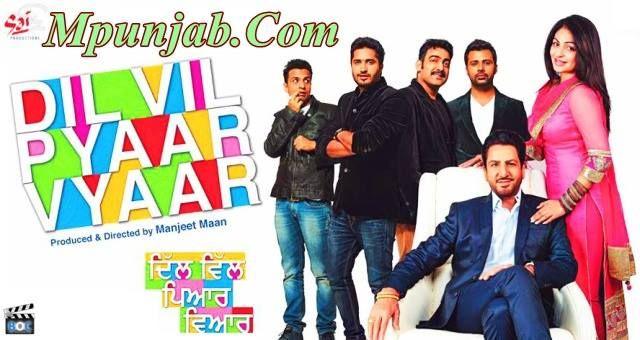 Dil Vil Pyar Vyar (2014) 1Cd DvDScr - Full Pc Punjabi Movies Added 3Gp, Mp4, Iphone, Pc Formats - http://www.mpunjab.com/
