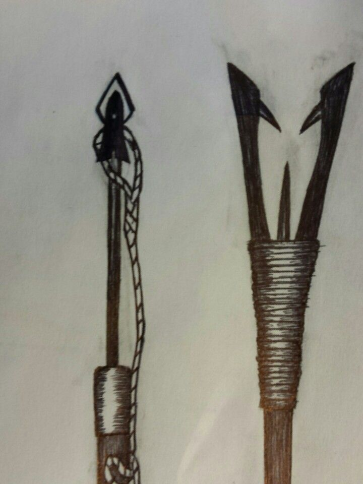 how to make a harpoon spear