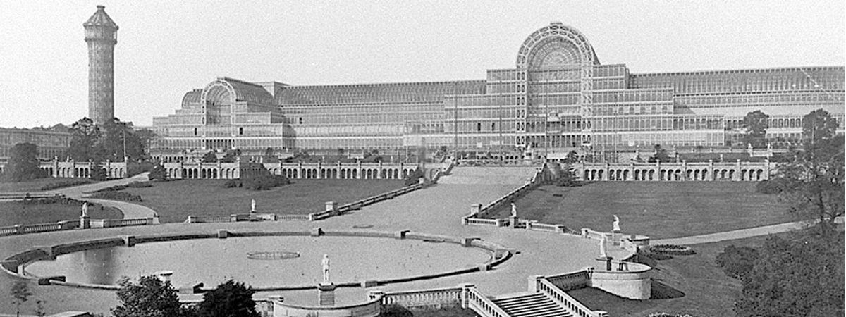 Crystal Palace, Joseph Paxton, London, Great Britain, 1851