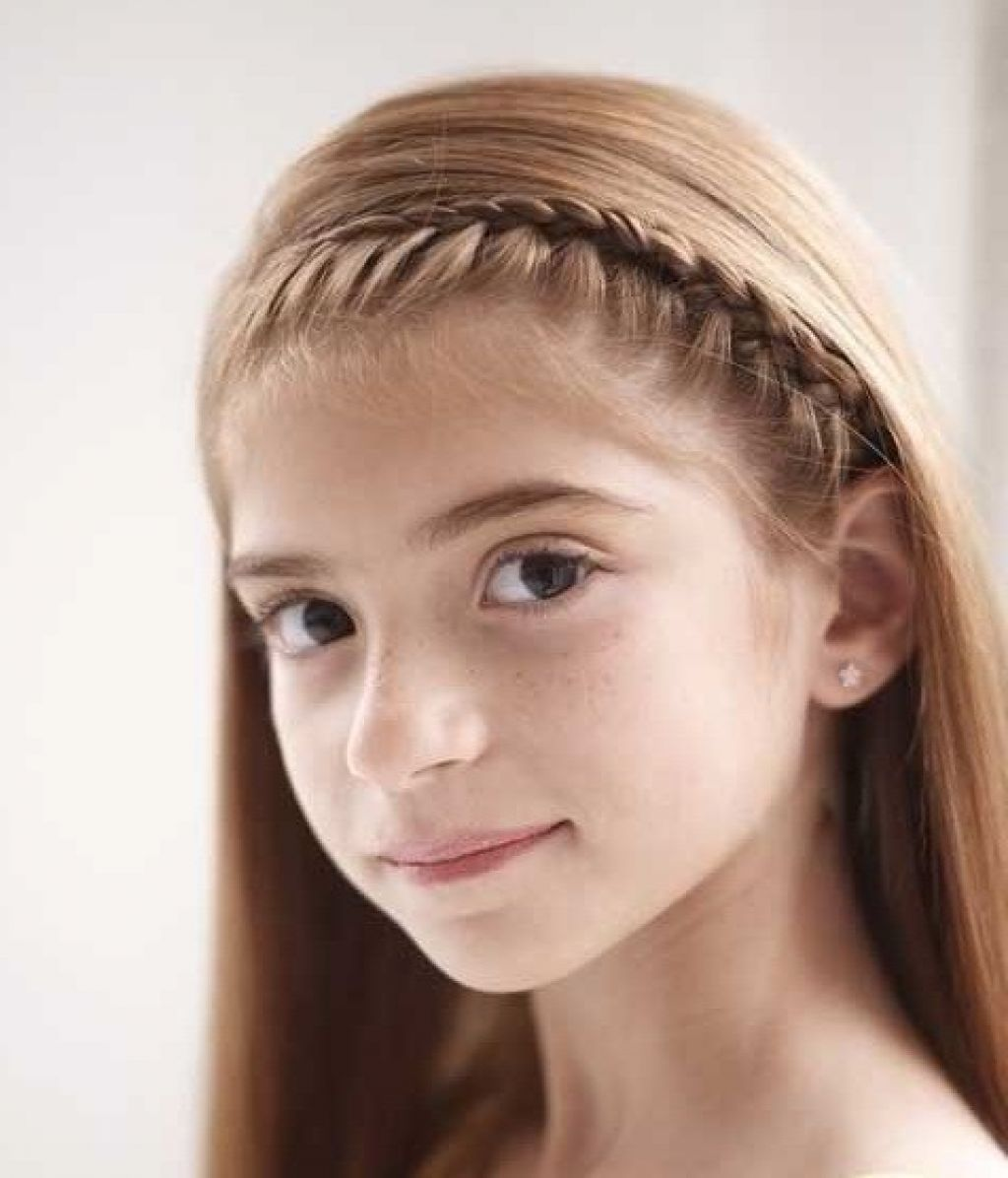 Kids hairstyles for short hair girls - Beautiful Little Girl Hairstyles Stylish Family Hairstyles For Kidskids
