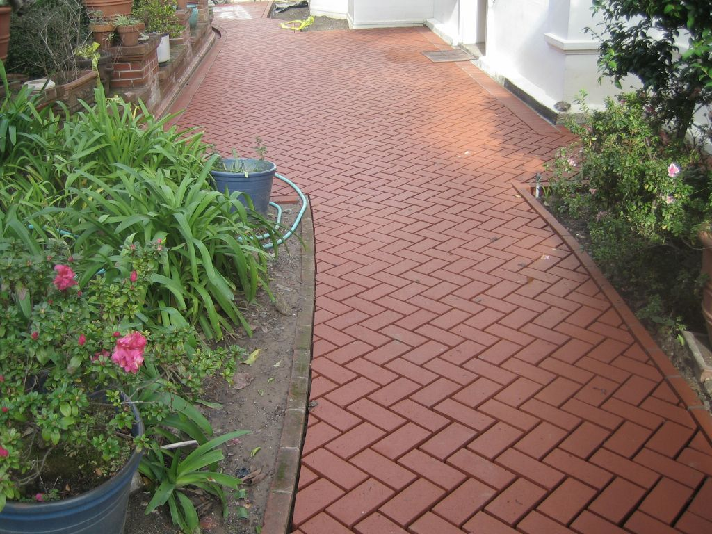 traditional brick could look nice and be affordable | patio/yard
