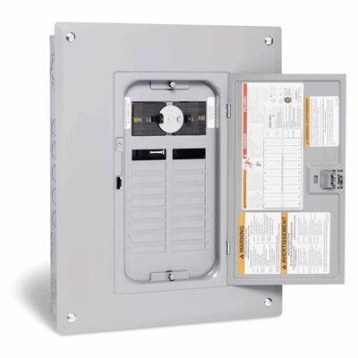 Square D 60 Amp Generator Panel With 18 Es 36 Circuits Maximum
