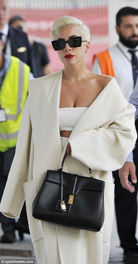 Lady Gaga exudes Hollywood glamour at Venice Film Festival #hollywoodstars