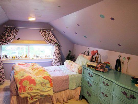 lindo quarto no sótão!!!!