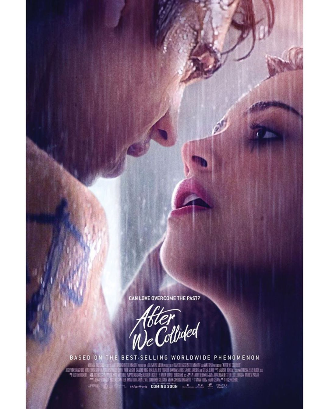 After We Collided' Movie Poster Was Just Released & It's Hot in 2020 | After movie, Hessa, Movie posters