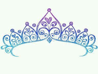 princess crown colours purple dark and light blue tattoos rh pinterest ca princess tiara tattoo pictures princess tiara tattoo pictures