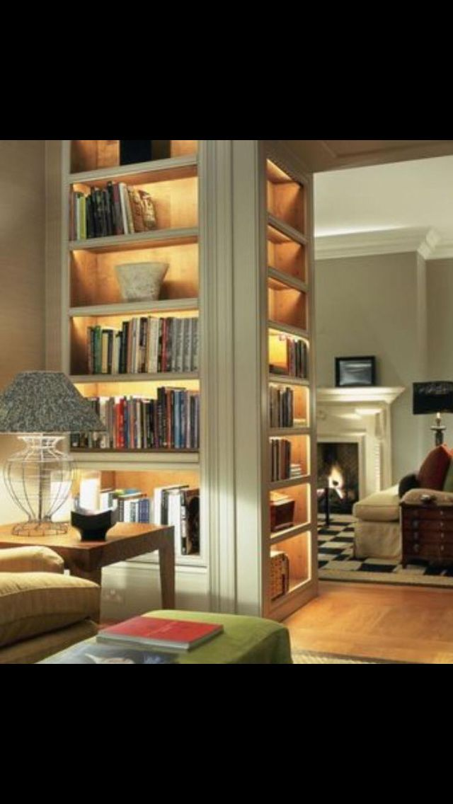 3 Sided Bookcase Building Ideas For House Pinterest