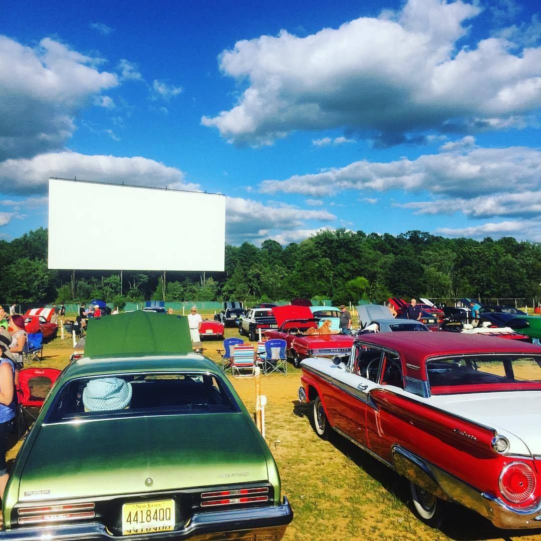 Kick it old school at a drivein movie with images