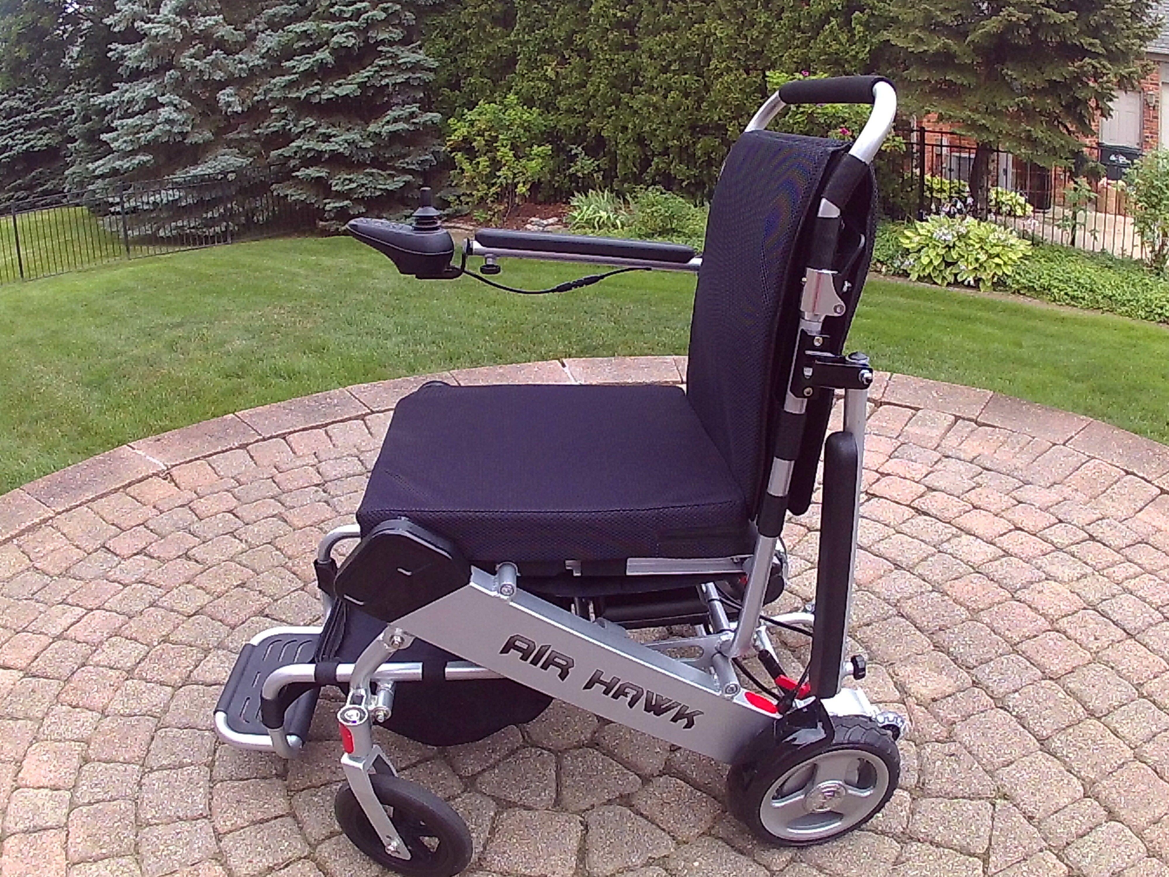Super Light Folding Power Wheelchair Powered Wheelchair