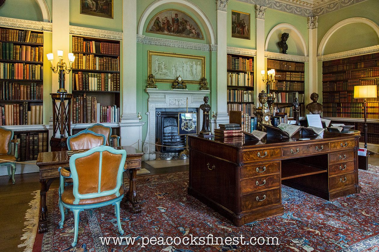 Harewood House Library English Country House Harewood House  # Muebles Town And Country