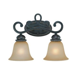 Photo of Craftmade 25202-MB Mocha Bronze Highland Place 2 Light Bathroom Vanity Light – 16.5 Inches Wide – LightingDirect.com