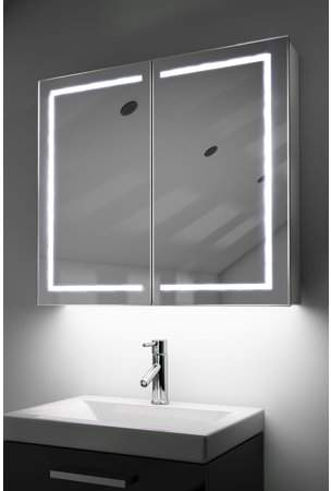 Home Mirror Cabinets Bathroom Mirror Cabinet Light Sensor