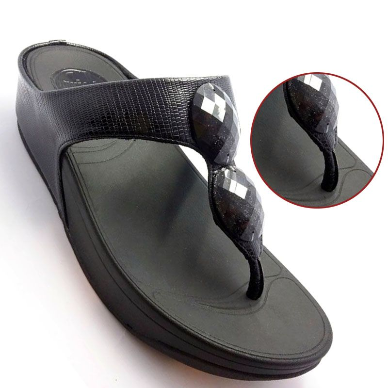 faeb283b2e3b Buy Stylish Fancy Ladies Slippers (6532201 - Black) in Pakistan at lowest  possible prices.