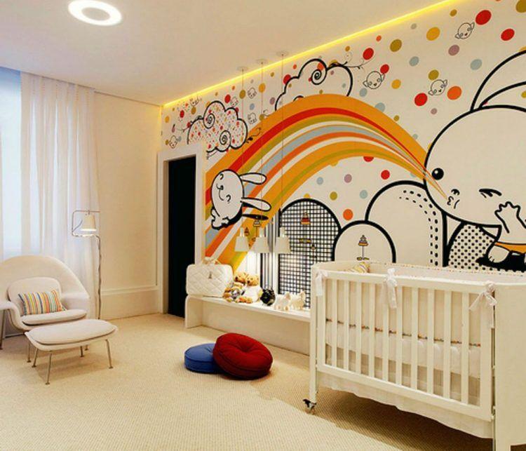 20 Adorable Cartoon Themed Nursery Ideas Baby Bedroom Design Ideas Kids Room Design Baby Room Decor