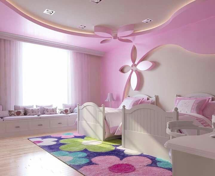 Pin by imran khan on Interiors | Pink bedroom walls, Light ...