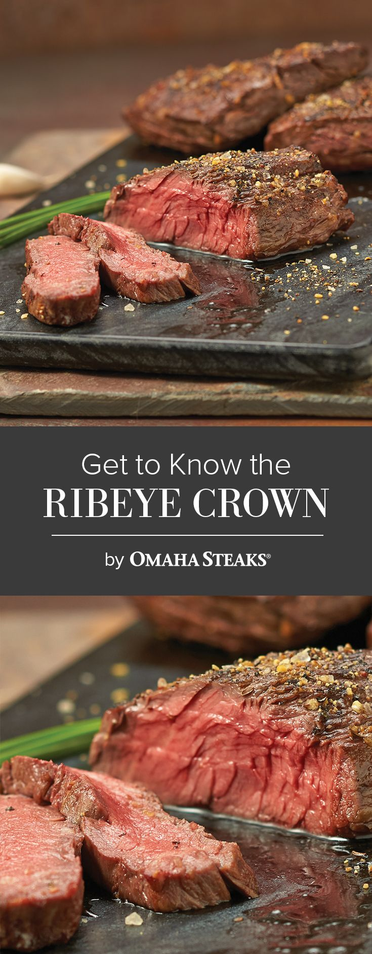 Get To Know The Ribeye Crown Steak Omaha Steaks Products
