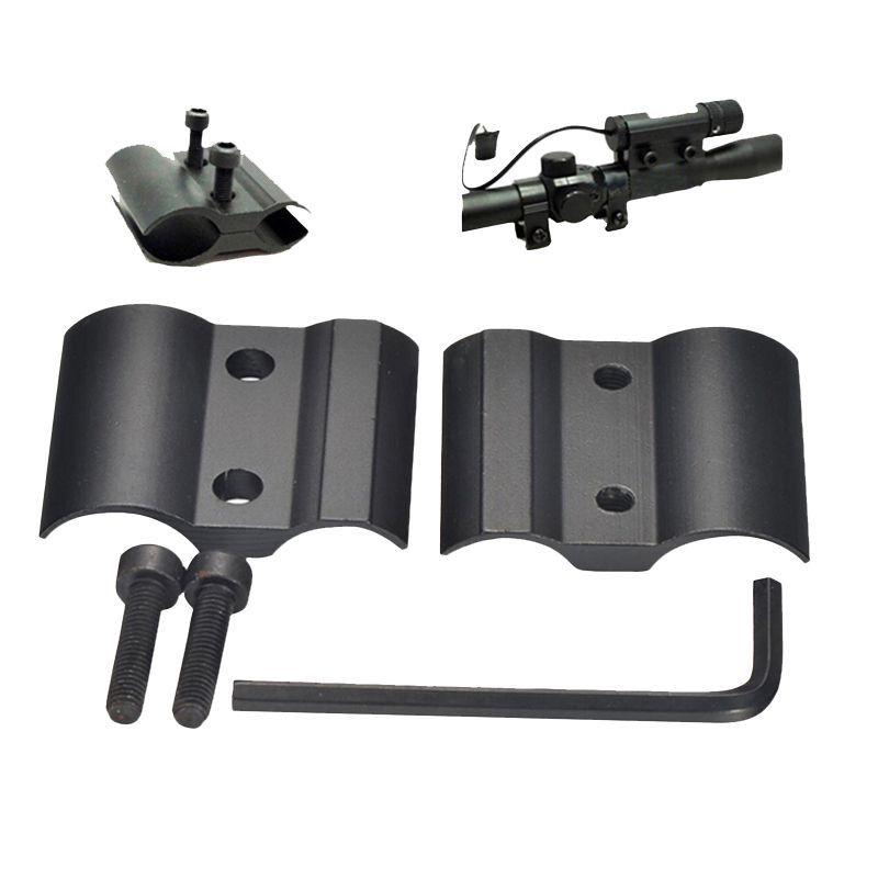 Laser Scope Clip Mount Ring Barrel Adapter-UK Tactical 1/'/' Combined Flashlight
