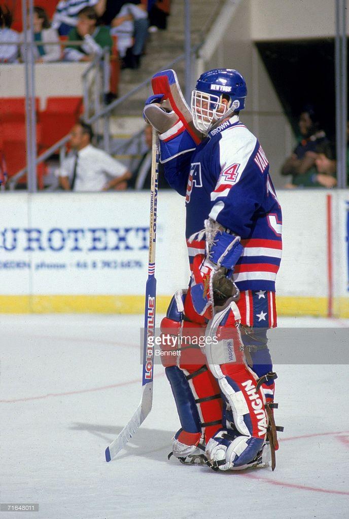 American Professional Ice Hockey Player John Vanbiesbrouck Goalie Of