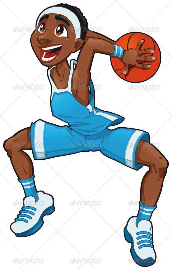 Basketball Boy Boy Cartoon Characters Cartoon Cartoon People